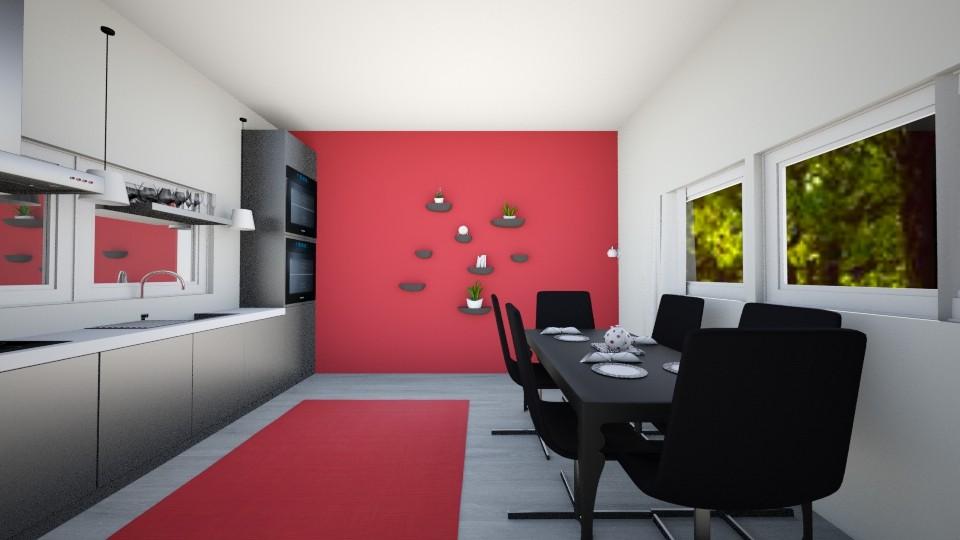 Kexperhelionment - Modern - Kitchen - by PJSmartyPantz