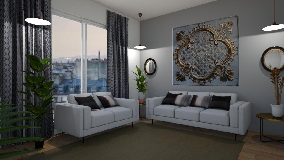 Room 20 - Living room - by Tiffany Y