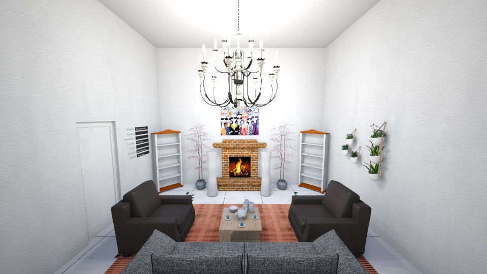 Symmetry Design - Modern - Living room - by ravalonna