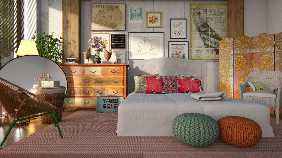Eclectic - Bedroom - by ZuzanaDesign