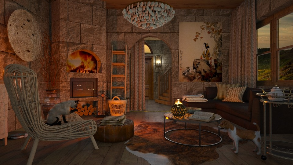 My fantasy castle  - by lydiaenderlebell