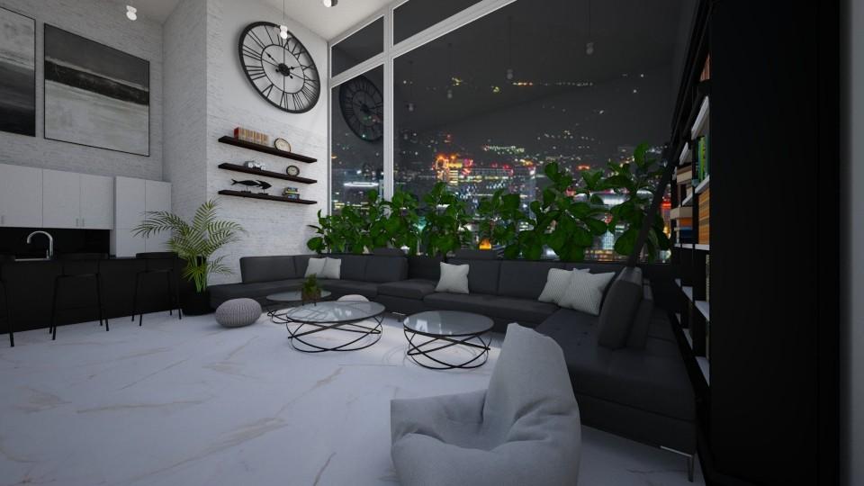 liv12062020 - Living room - by jezek1