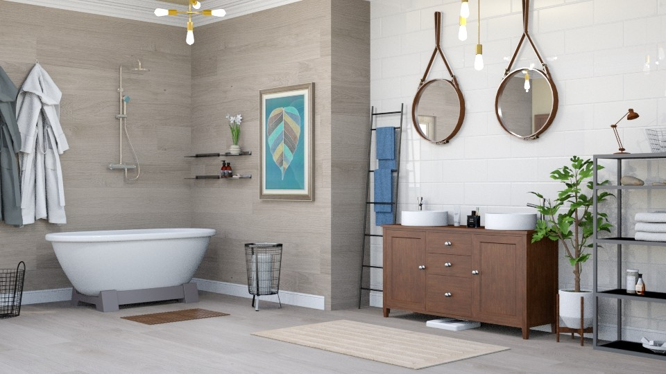 nordic bathroom - Modern - Bathroom - by Bianca Interior Design