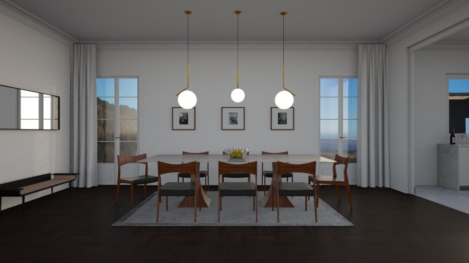 Dining Room 2  - Dining room - by Ryan_22_