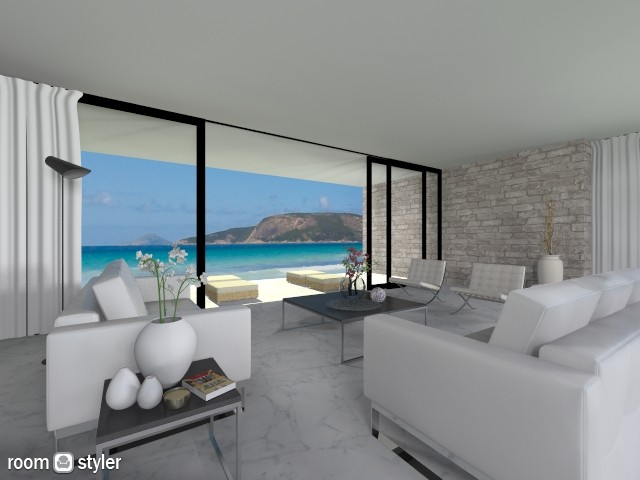 Sea - Living room - by fre82
