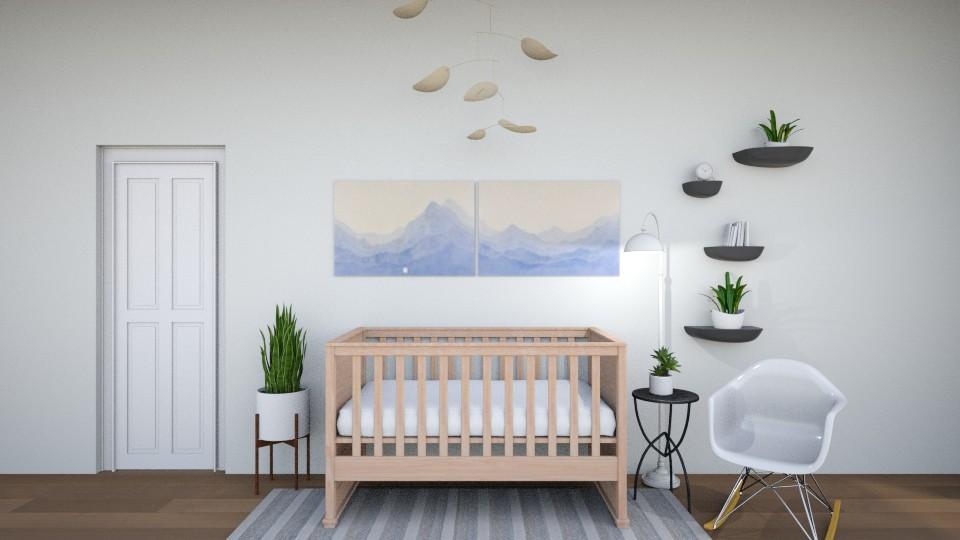 Bundle of Joy - Kids room - by Jane Rawle