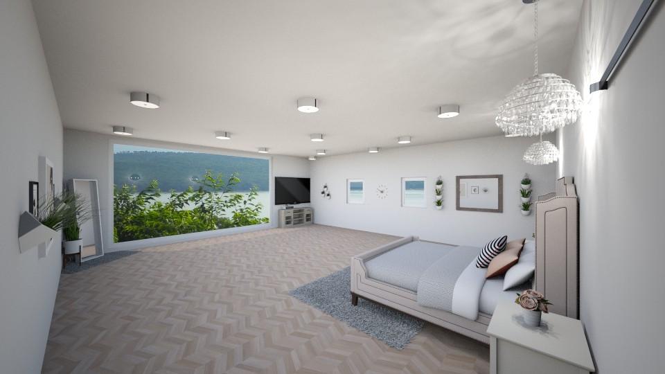 Master Bedroom  - Modern - Bedroom - by tcooney