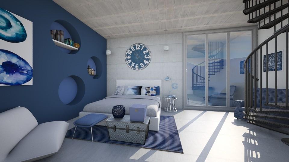 OCEAN  - Modern - Bedroom - by Georgina Holly