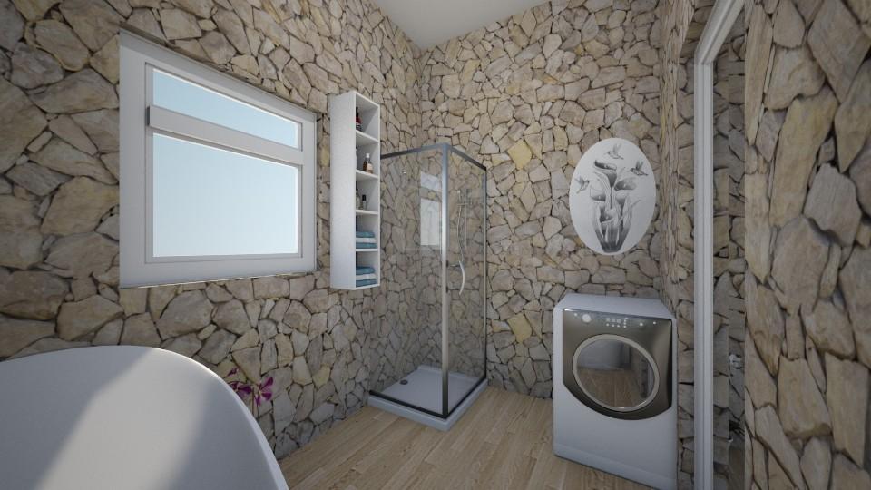 Apartemen3 - Bathroom - by Yuki Cu