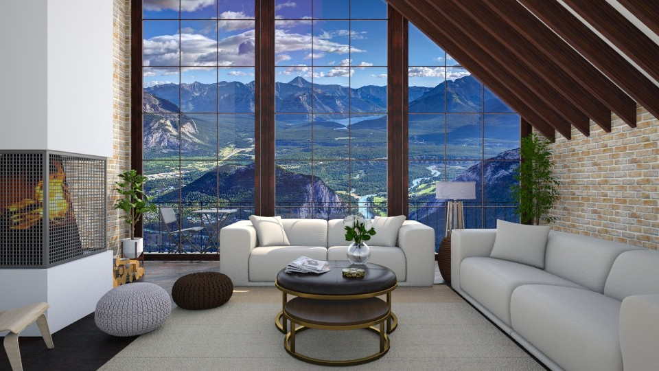 Banff - Living room - by martinabb