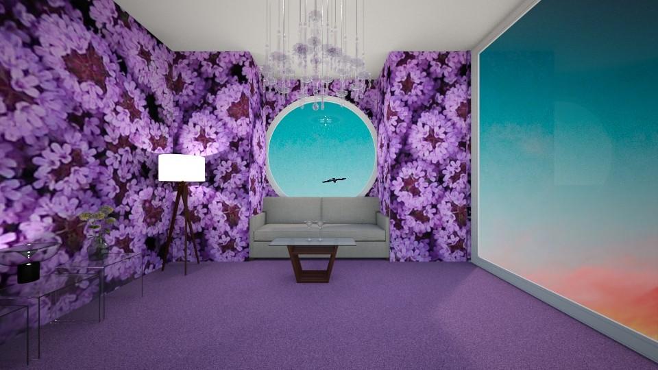 Living Room Skyscraper - Living room - by Anna Weyer