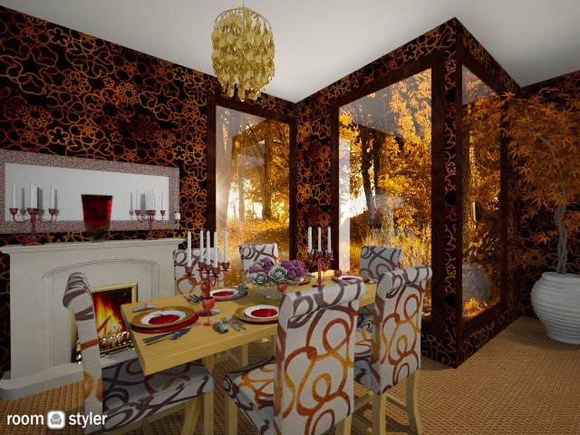 dinning room - Modern - Dining room - by Themis Aline Calcavecchia