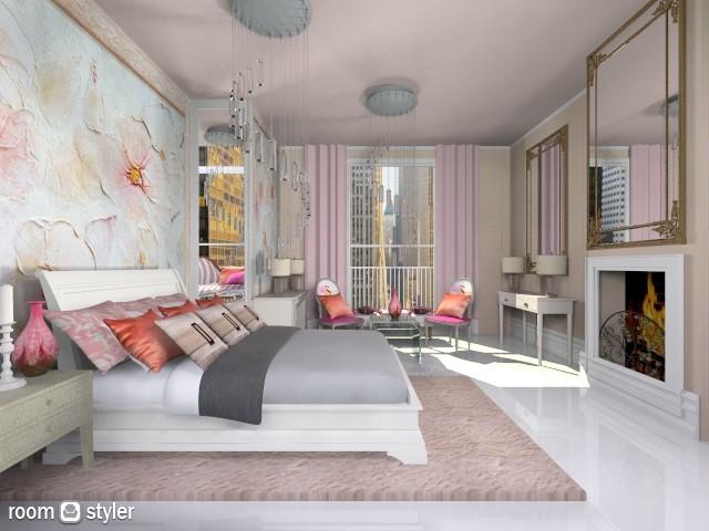 Peach B - Bedroom - by bisertanya