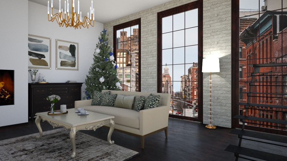christmas time - Living room - by dorota_k