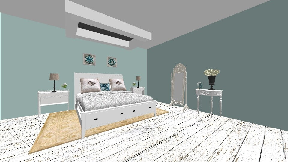 Skylight bedroom - Bedroom - by Blancac