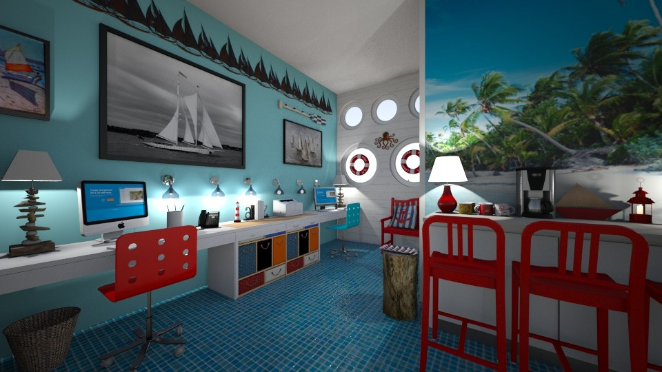 nautical office - Office - by hillygabe