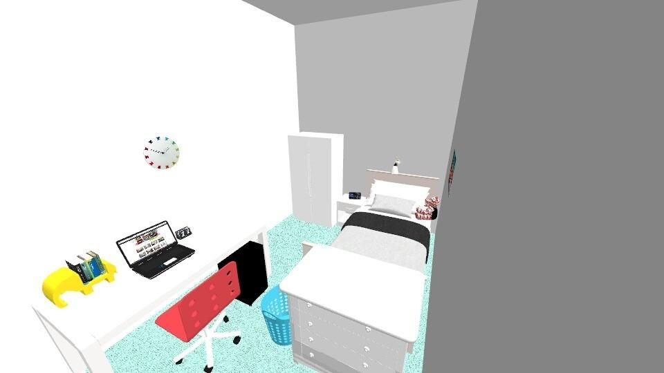 my Bedroom - Bedroom - by Designmistress