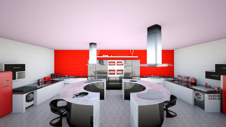 retro - Kitchen - by josierobsonxx