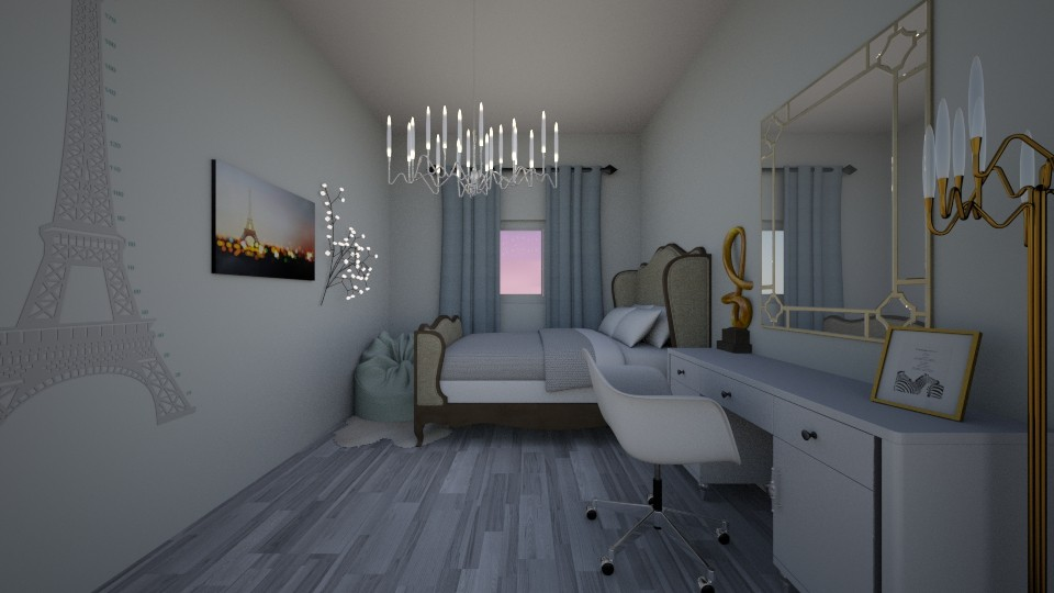 My Room - Modern - Bedroom - by Yana Kutsak
