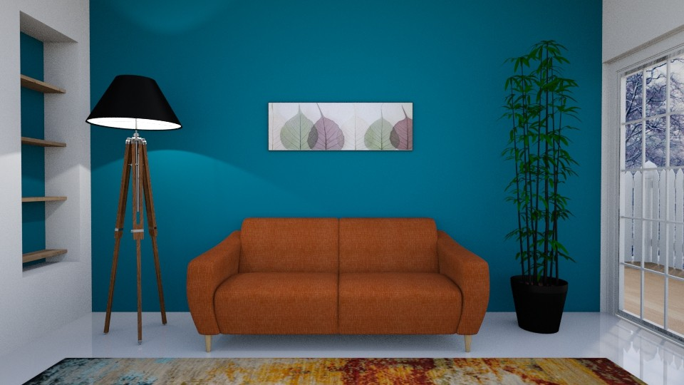 front view interior - Living room - by Freditane