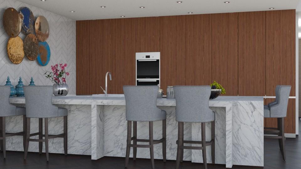 open plan 1 - Living room - by sephara