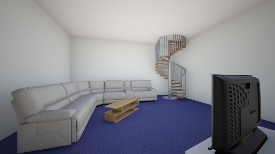 Under the stair case  - Feminine - Living room - by Erica Jane