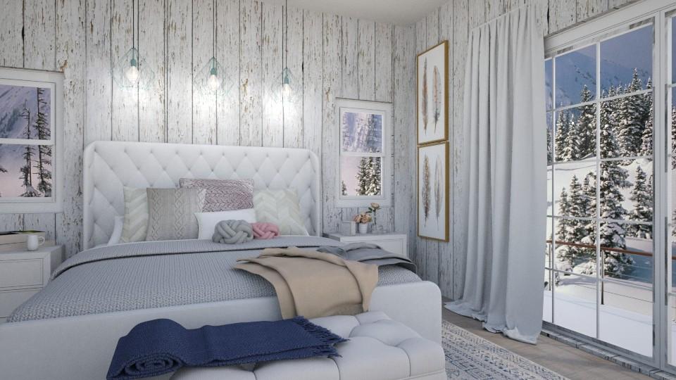 winter bedroom - by IsabelRule