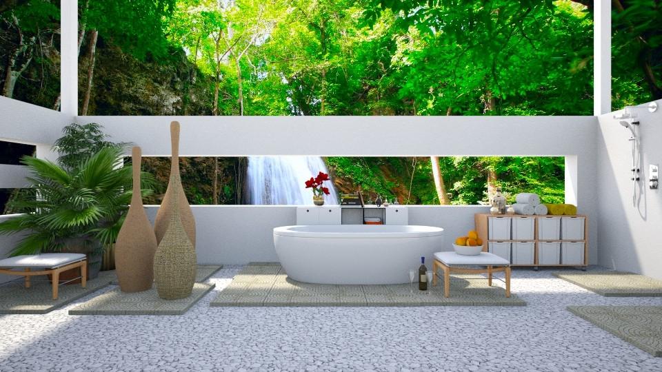 tropical retreat - by jade61356