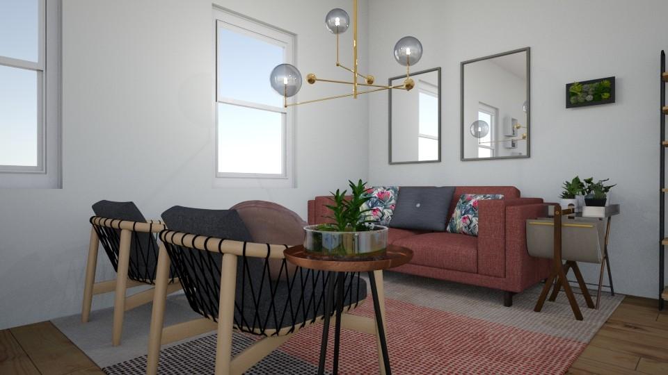 Studio Apartment Living  - by Samantha Ruoff