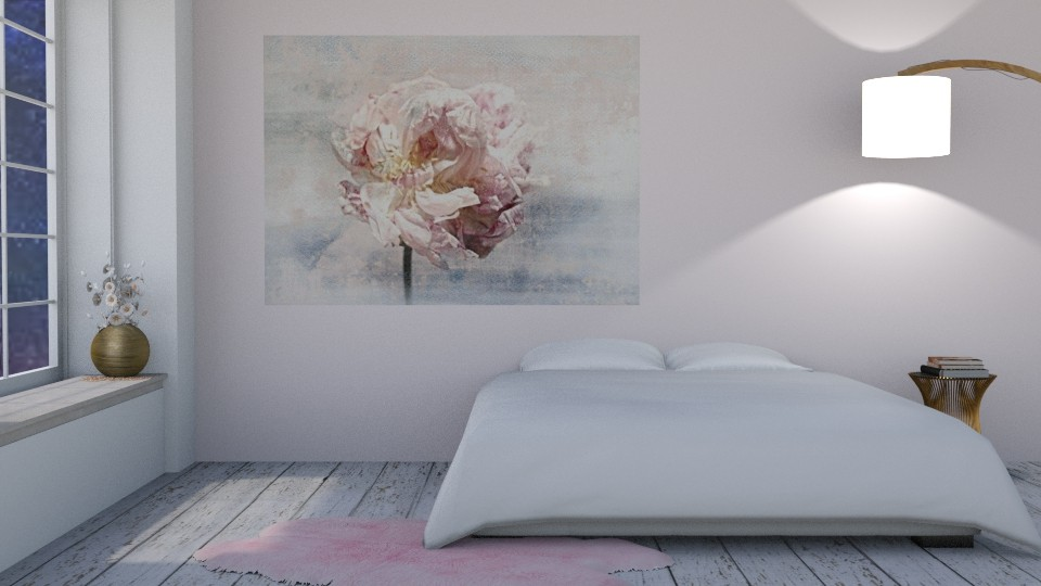 Shabby chic bedroom - Feminine - Bedroom  - by snjeskasmjeska