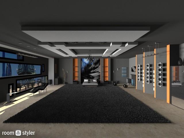 Bedroom black2  year 2025 - Modern - Bedroom - by Ofiel