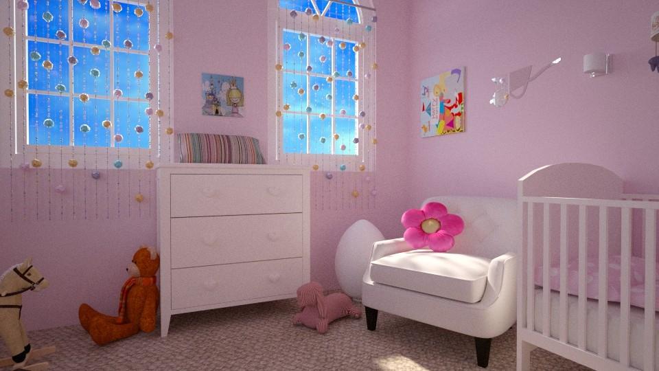 Meisjeskamer daydetail - Classic - Kids room - by Perta