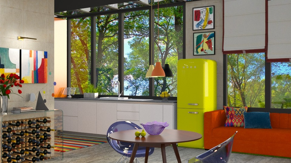 an artful kitchen - by annamarina