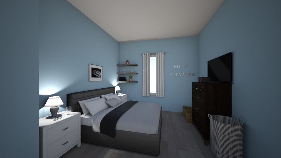 Mimis Bedroom - Modern - Bedroom - by cbruno23