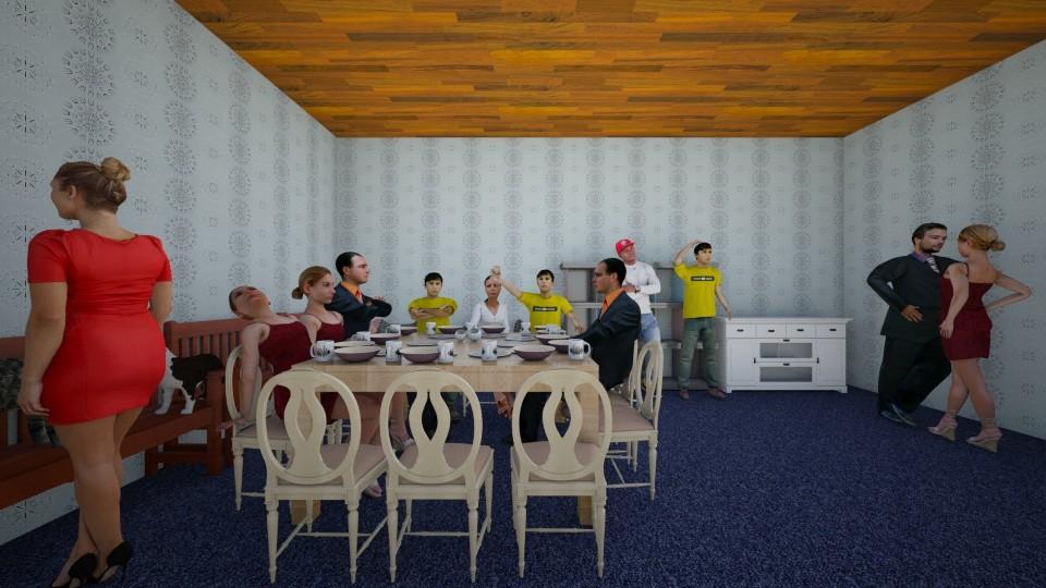 Dining room - Modern - Dining room  - by Yasir Ross