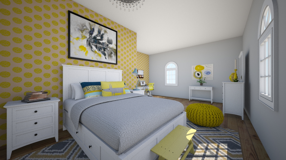Teenagers Bedroom - Kids room - by Ainsley_2016