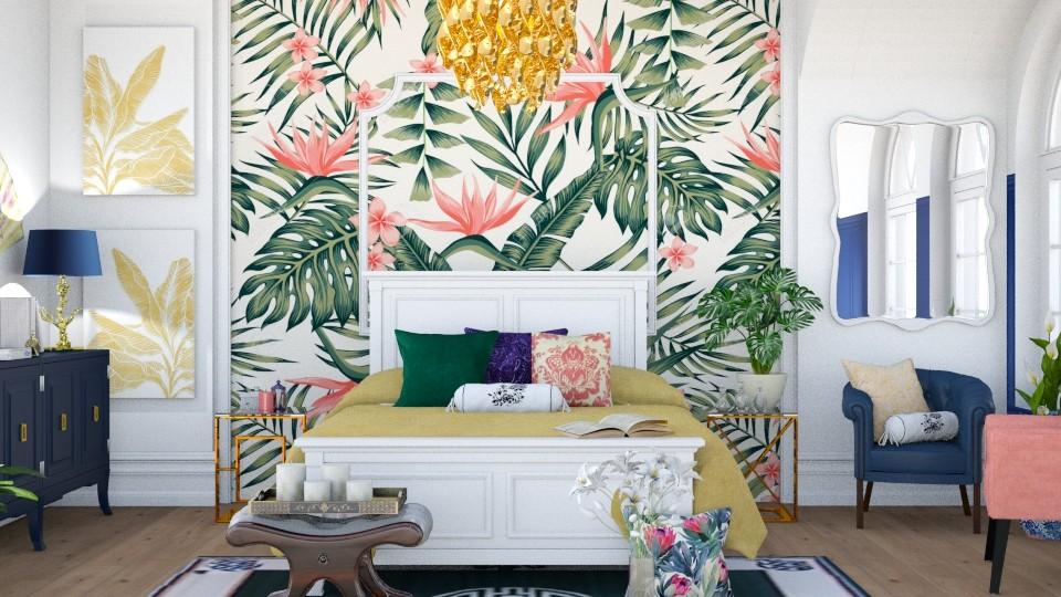 Maximalist Bedroom - Bedroom - by ArtHousedeco