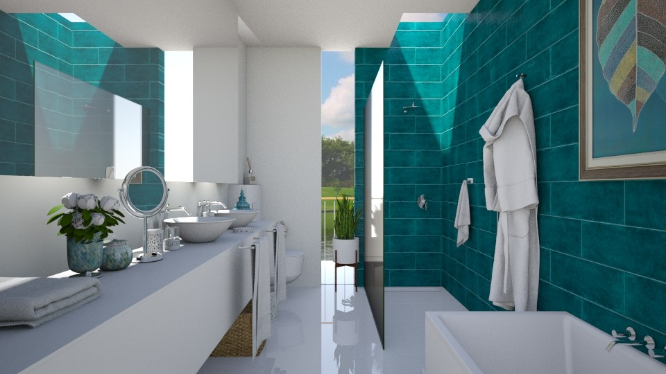 Bonjour Mademoiselle - Modern - Bathroom - by Claudia Correia