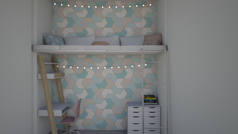 loft - Bedroom  - by avika