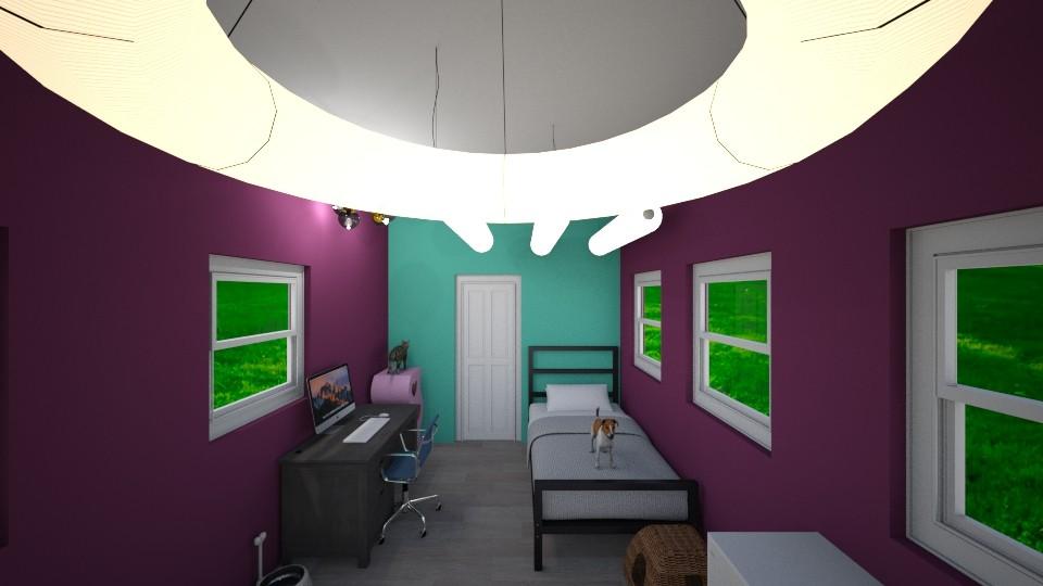 Alleyway room - Bedroom - by Ellie665