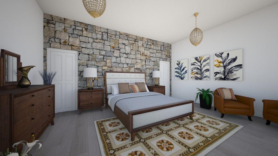 Quarto Tais - Bedroom - by Natt Vasconcelos