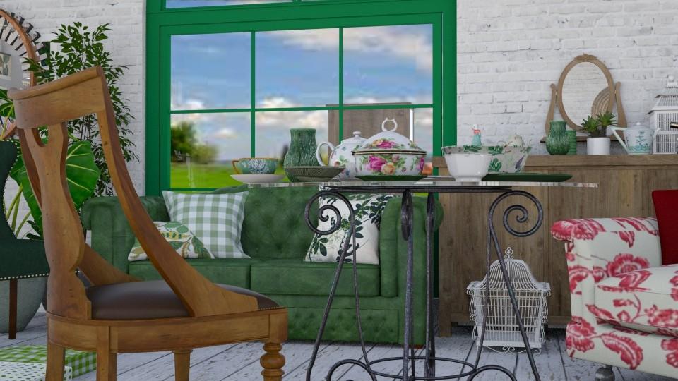 Livingroom Y - by TeA design Belgrade