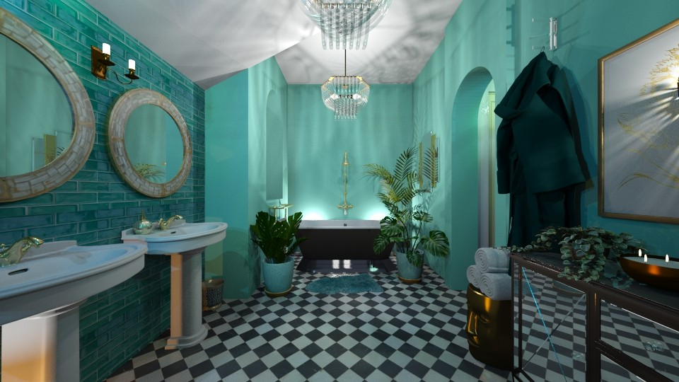 T - Bathroom - by RonRon