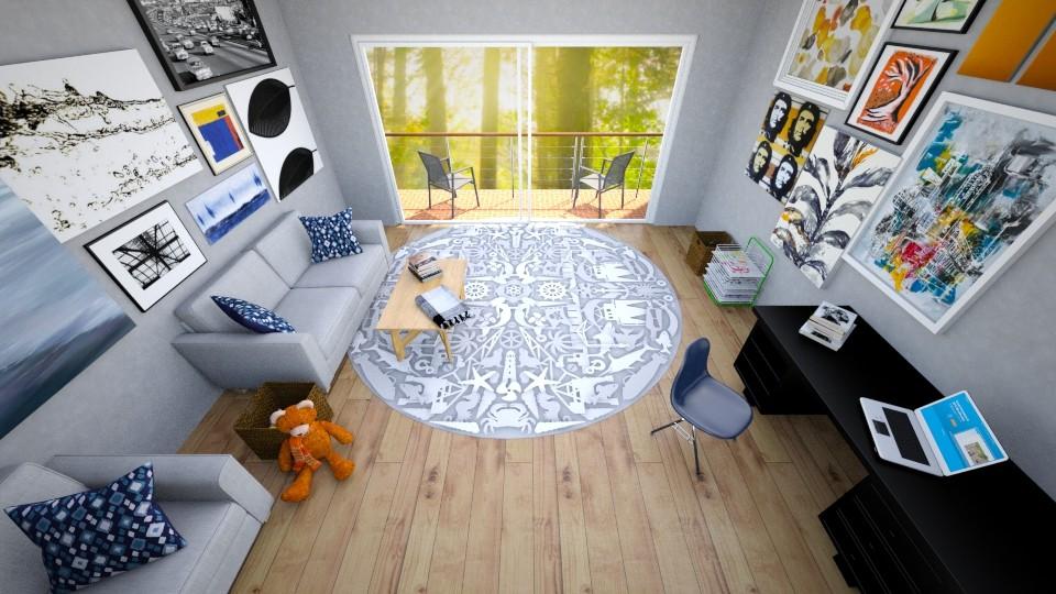 Geometric LR - Classic - Living room - by DaijanaB
