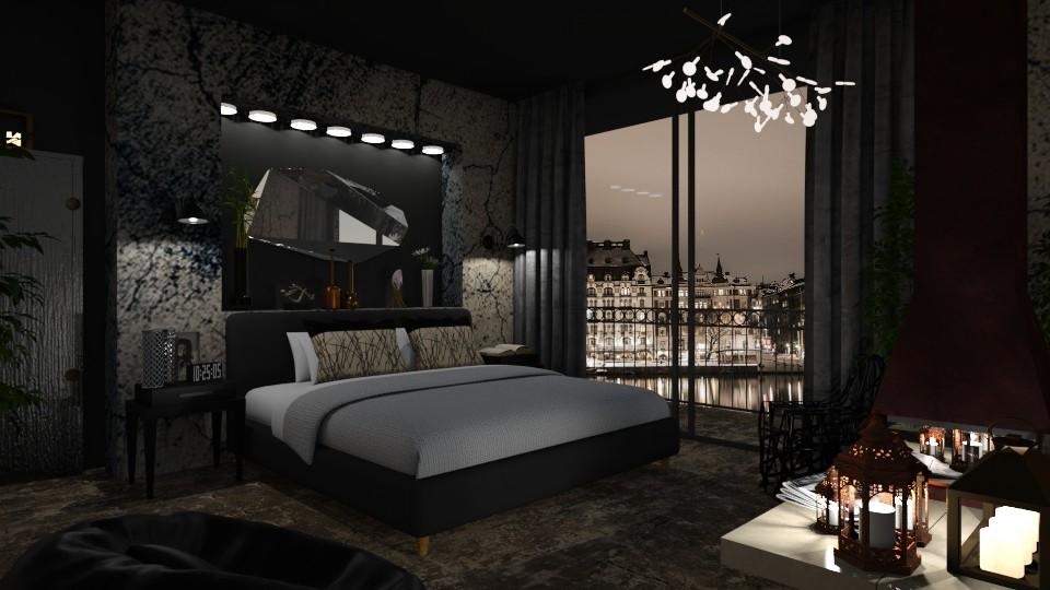 Stockholm - Masculine - Bedroom  - by LuzMa HL