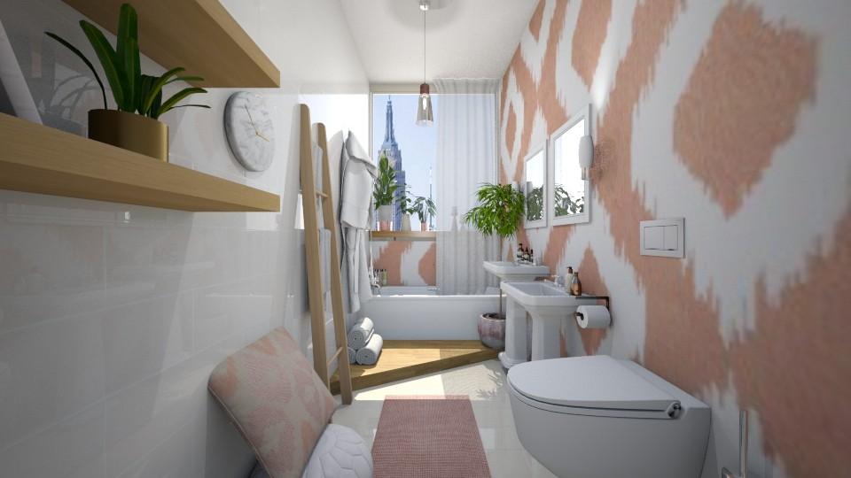 Light Rose - Bathroom - by Sali15