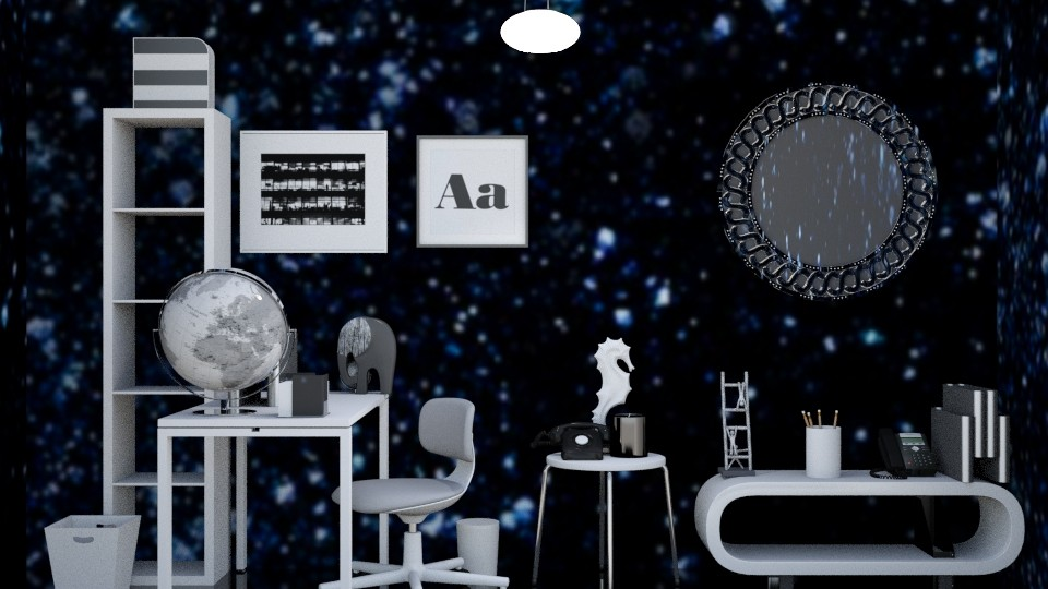 Starry office - Office - by junicorn19