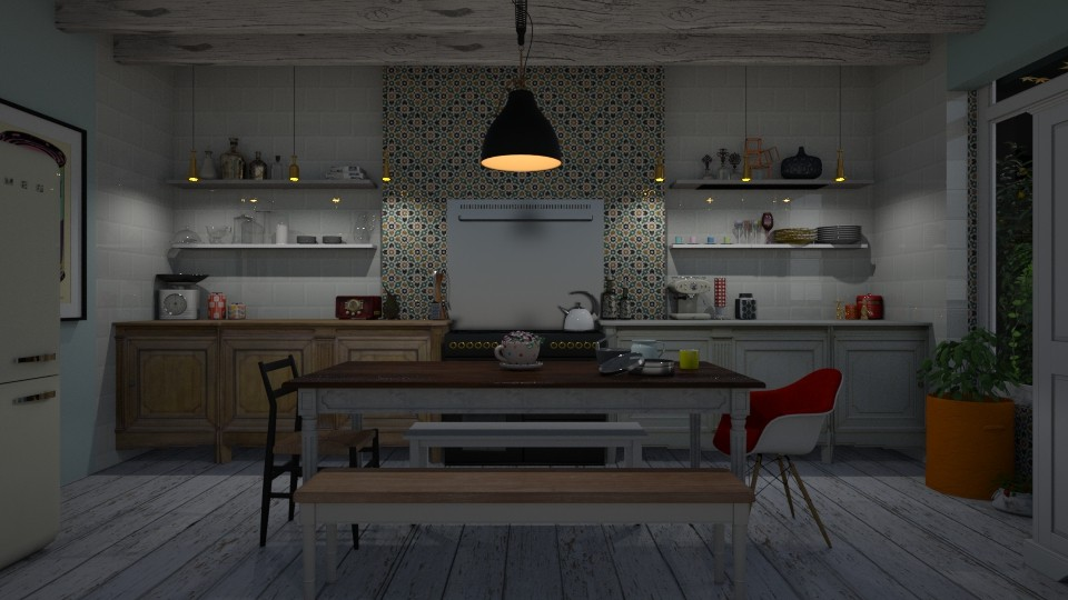 Kitchen - Rustic - Kitchen - by Annathea