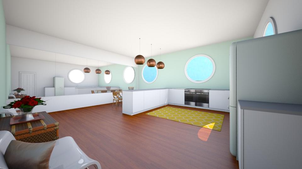 Art Deco Kitchen - Retro - Kitchen - by P_C