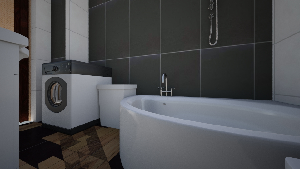 rf - Glamour - Bathroom - by Milena ART